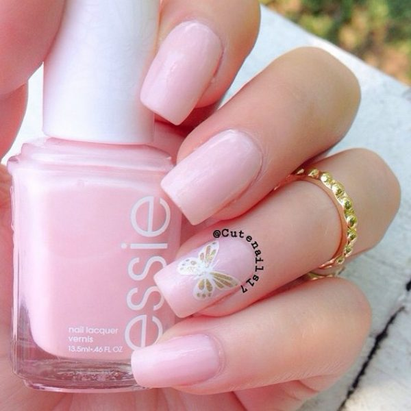 beautiful shade nude nails bmodish