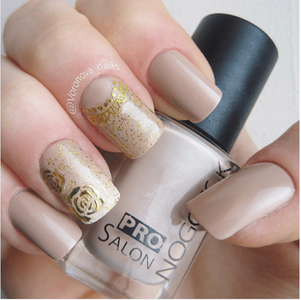 neutral color nail design bmodish