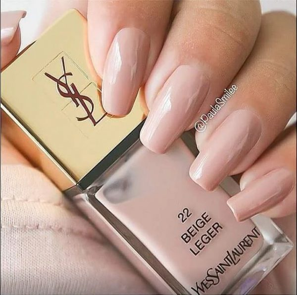 Nude nail art designs that will look great on every skin tone be soft beige natural nail art bmodish prinsesfo Images