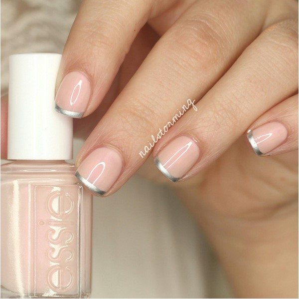 CRESCENT MOON nude nails bmodish