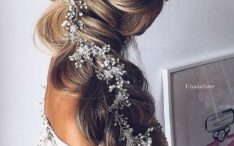 Amazing braided wedding hair long hair bmodish