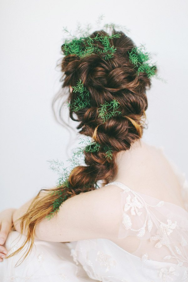beautiful braided wedding hairstyle bmodish