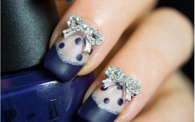 bowknot manicure bmodish