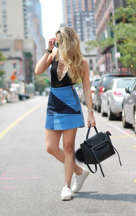 lace up bodysuit summer outfit bmodish