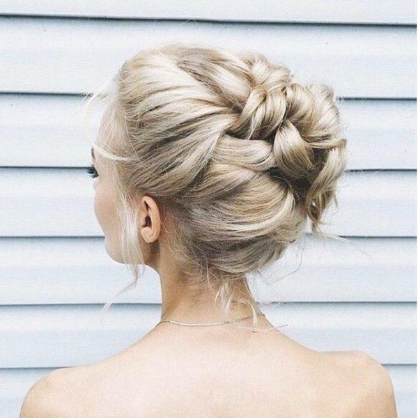 romatic bridal braid hair bmodish