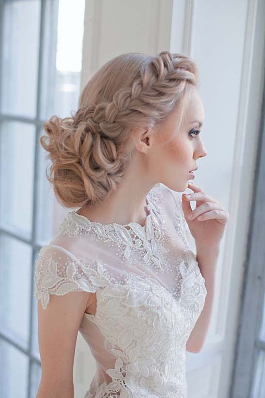 side french updo wedding hair bmodish