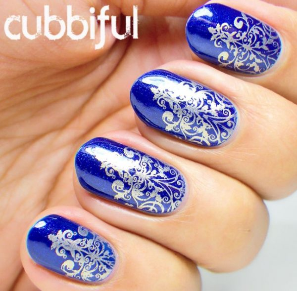 royal-blue-stamping-nails bmodish