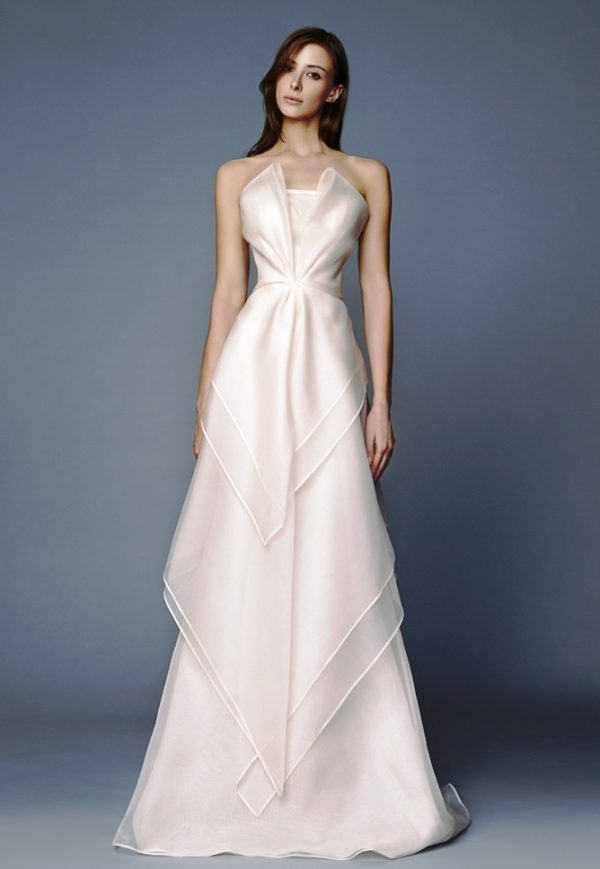 Brenda Antonio Riva Wedding dress bmodish