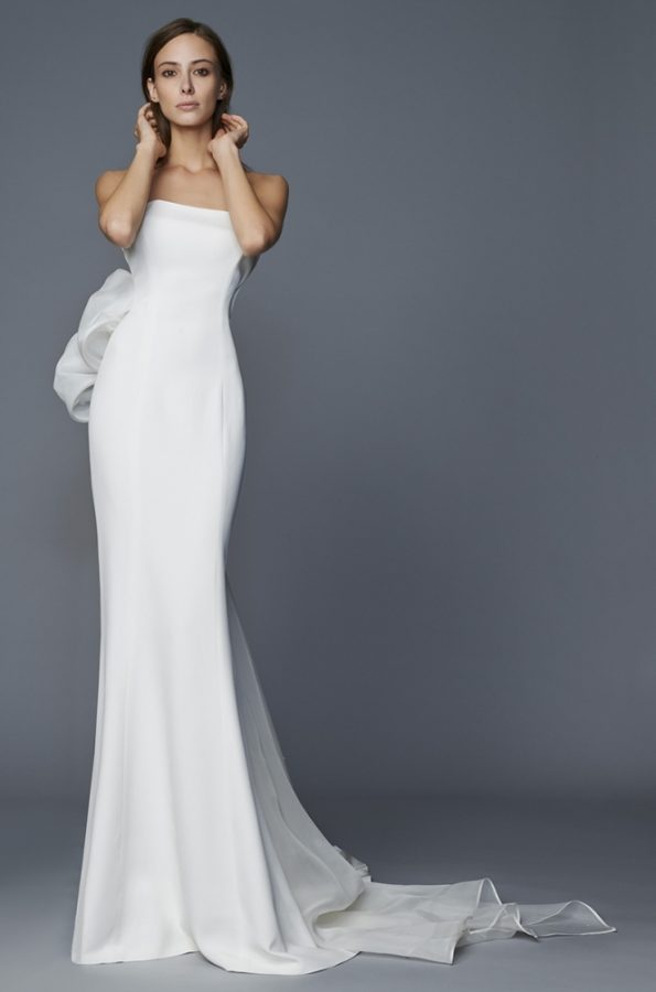 Kristel Antonio Riva Wedding dress bmodish