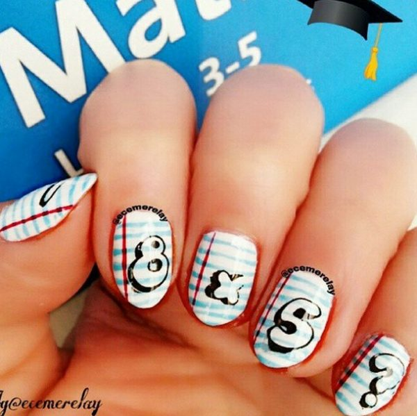 nail art back to school bmodish