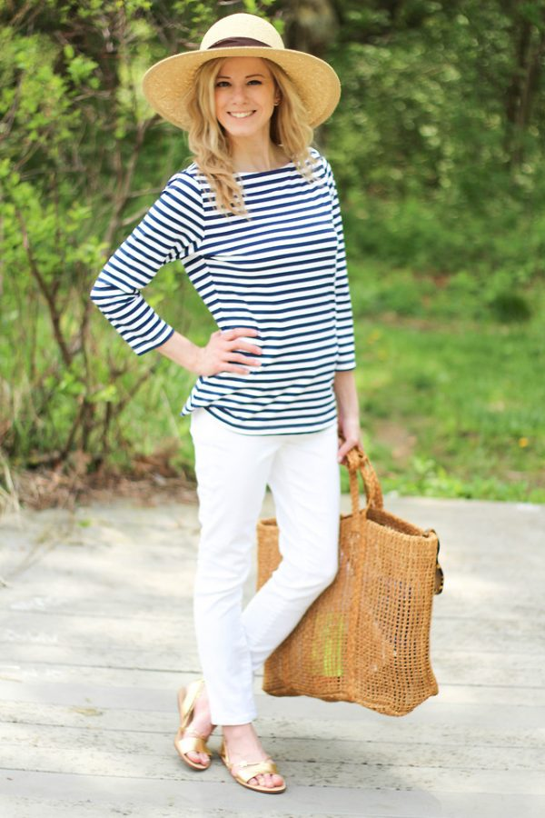 casual-summer-straw-hat-outfit-bmodish