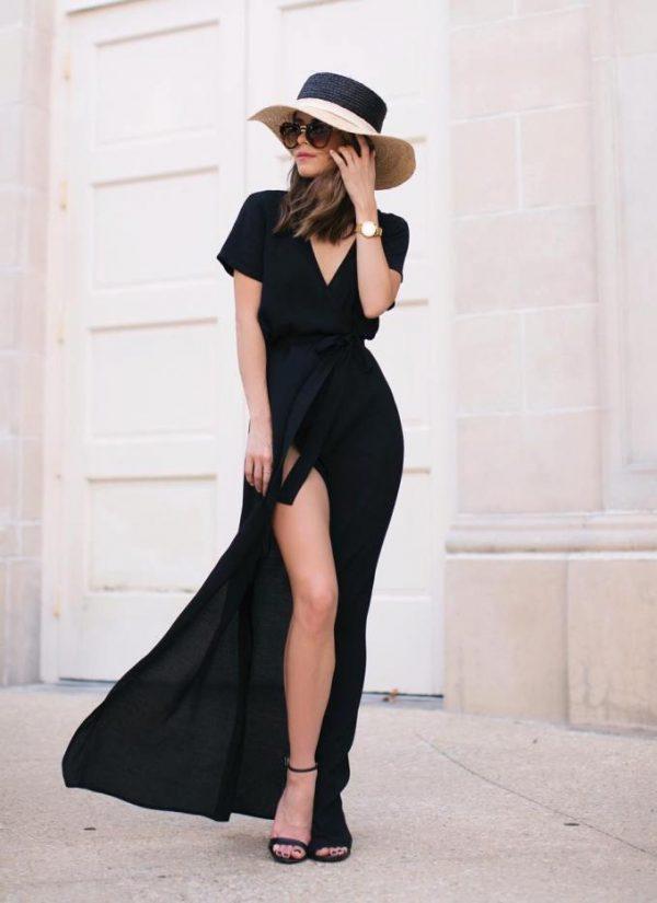 classic-black-maxi-dress-outfit-bmodish