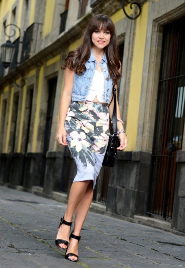 denim-vest-crop-top-and-pencil-skirt-outfit-bmodish