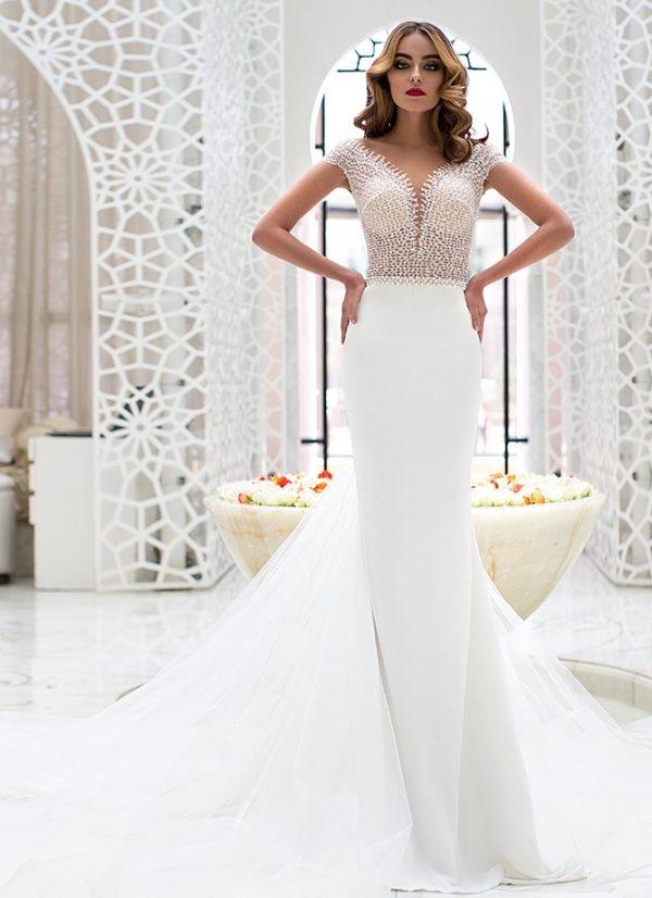 Amani Lorenzo rossi wedding dress 2017 bmodish