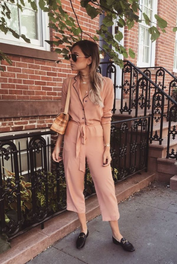 how to style pyjama jumpsuit bmodish