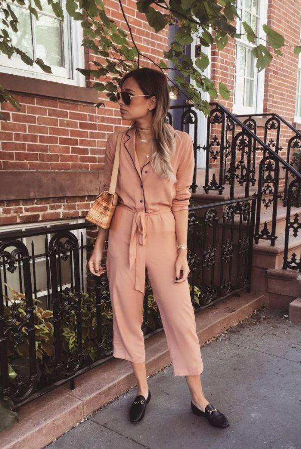 how to style pyjama jumpsuit bmodish