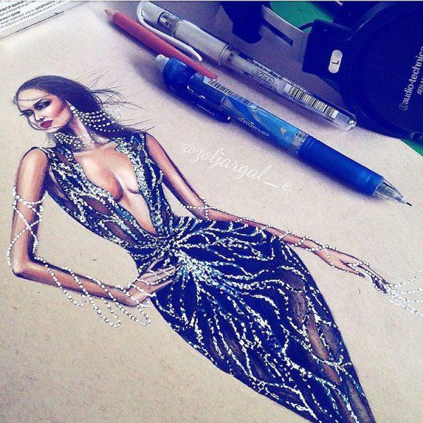 zoljargal enkhbold couture illustrator 1 bmodish