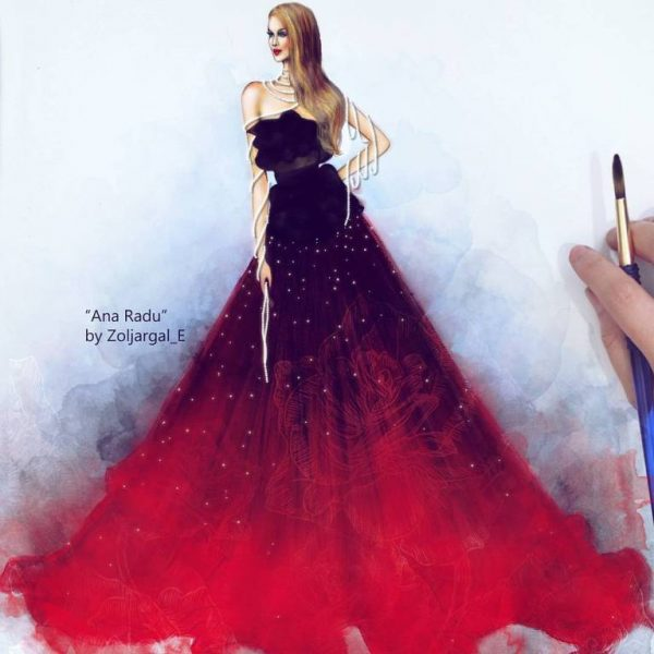 zoljargal enkhbold couture illustrator 10 bmodish