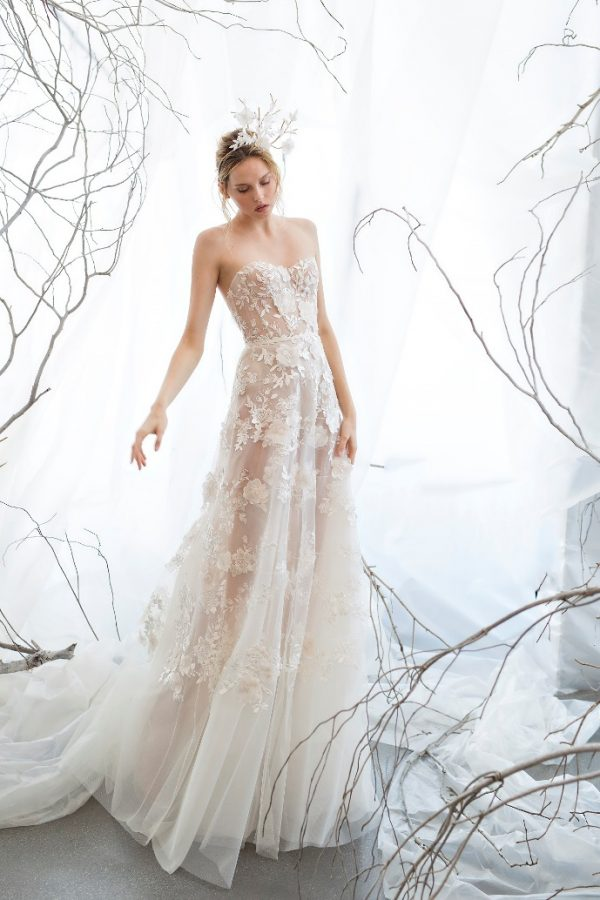 BERRIE mira zwillinger bridal collection