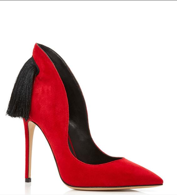 aleksander siradekian red louisa classic heels bmodish