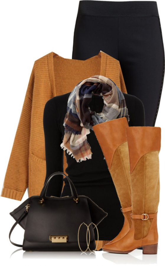 casual thanksgiving fall outfit idea bmodish