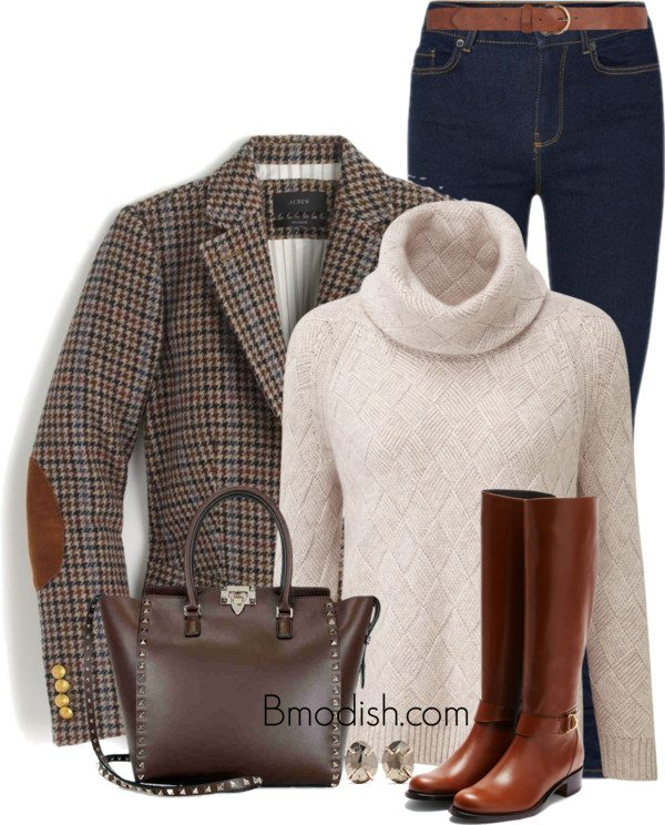 cute preppy fall style polyvore outfits bmodish
