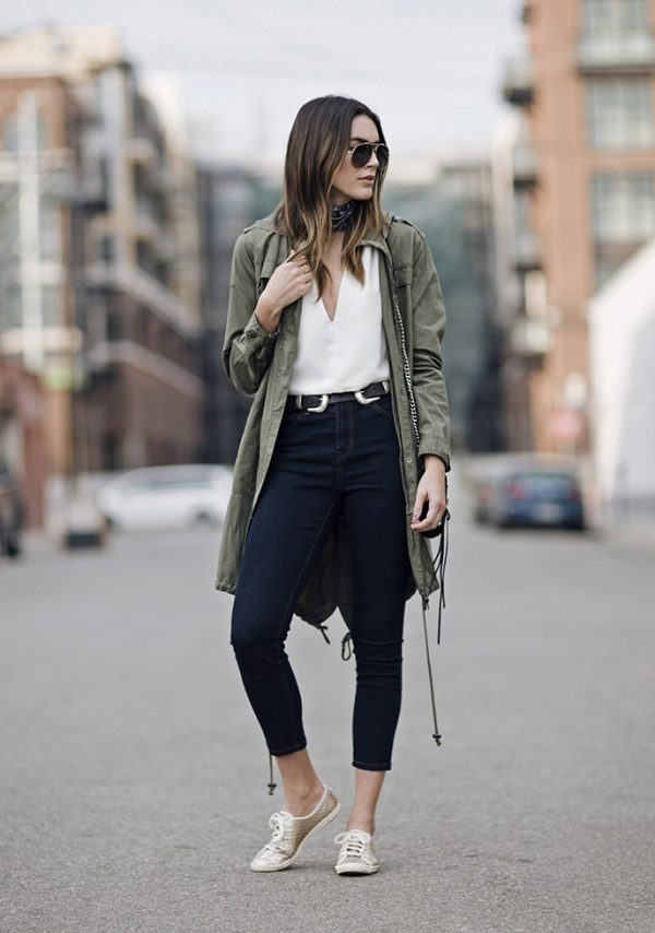 high waisted jeans fall outfit bmodish