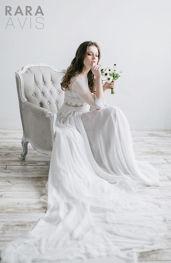 ivis rara avis wedding bloom dress 1 bmodish