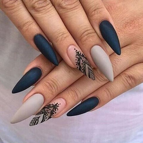 long nails pointy nails bmodish