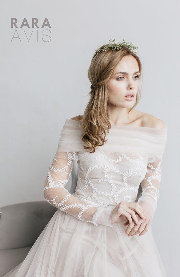 virol rara avis wedding dress 2 bmodish