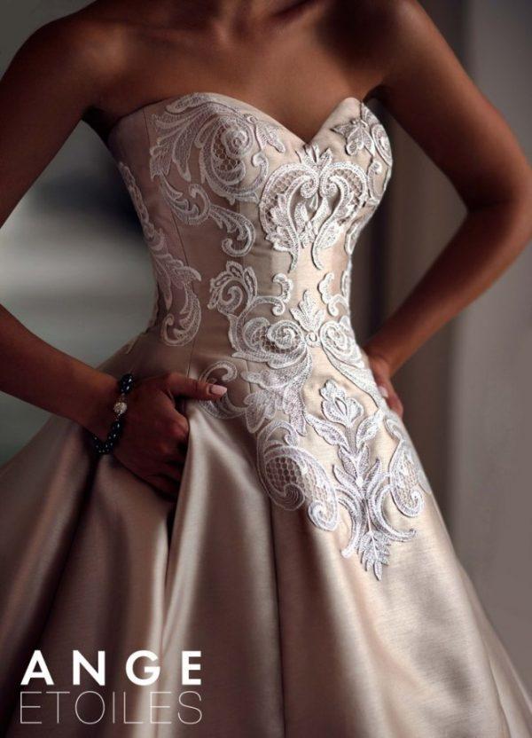 Ange etoiles charme collection wedding dress 26 bmodish