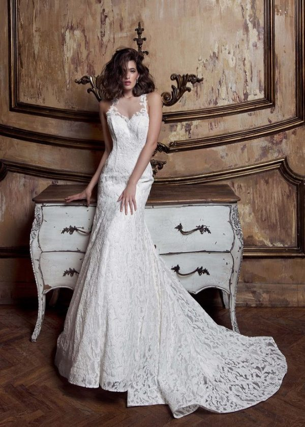 Ange etoiles charme collection wedding dress 68 bmodish