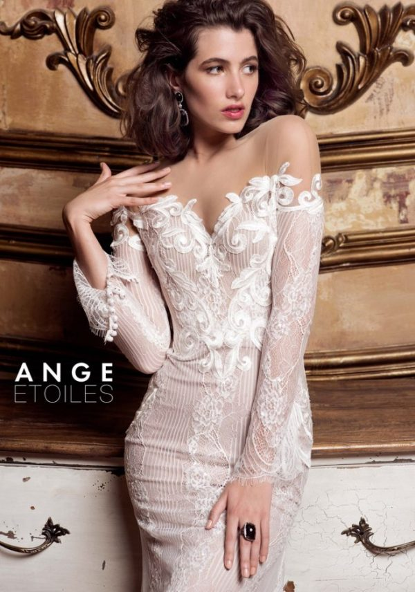 Ange etoiles charme collection wedding dress 72 bmodish