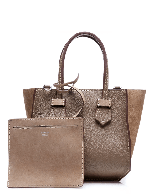 moreau light brown bregancon mini zip bag bmodish