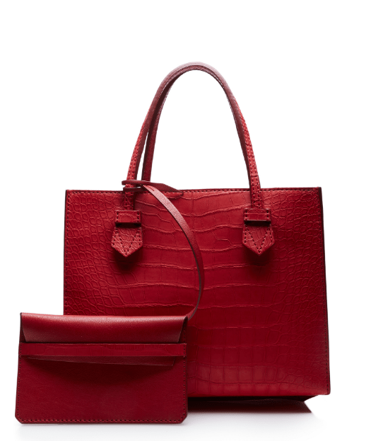 moreau red bregancon small zip bag bmodish