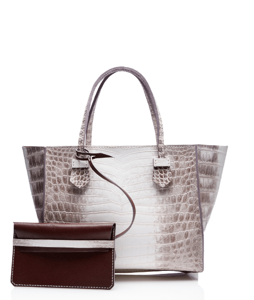 moreau white bregancon small zip bag bmodish