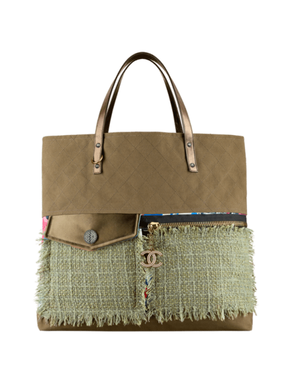 large shopping bag Channel cruise collection 8 bmodish