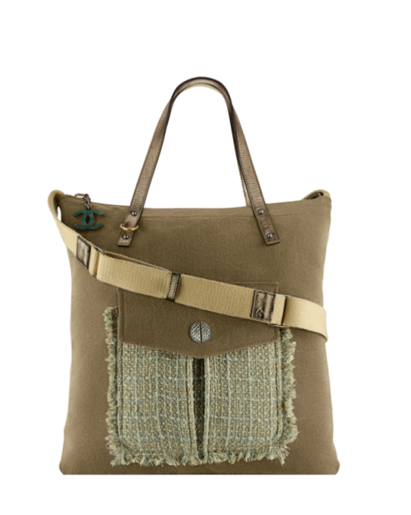 large shopping bag Channel cruise collection 9 bmodish