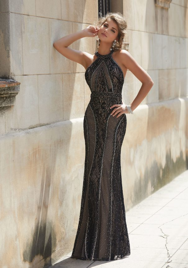 Black Beaded Mori Lee Prom Dresses 2014 Bmodish