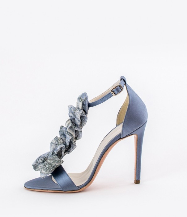 Blue Strap Heels Wedding Shoes Alessandra Rinaudo 10 bmodish