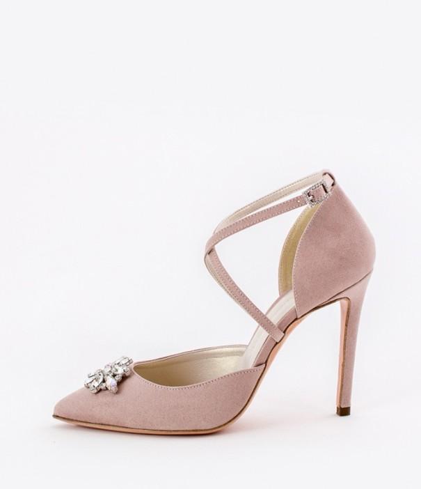 Blush Wedding Shoes Alessandra Rinaudo 16 bmodish
