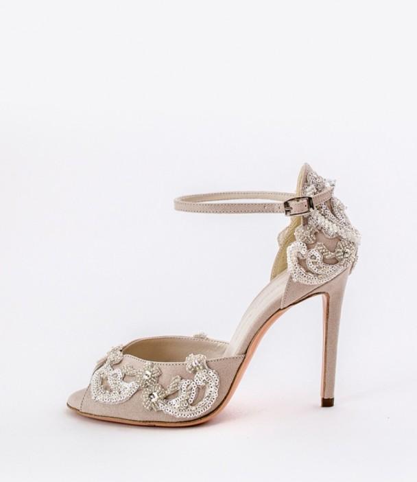 Embroidered Wedding Shoes Alessandra Rinaudo 6 bmodish