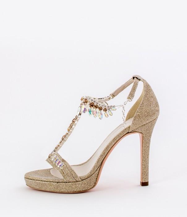 Gold Strap Heels Wedding Shoes Alessandra Rinaudo 12 bmodish