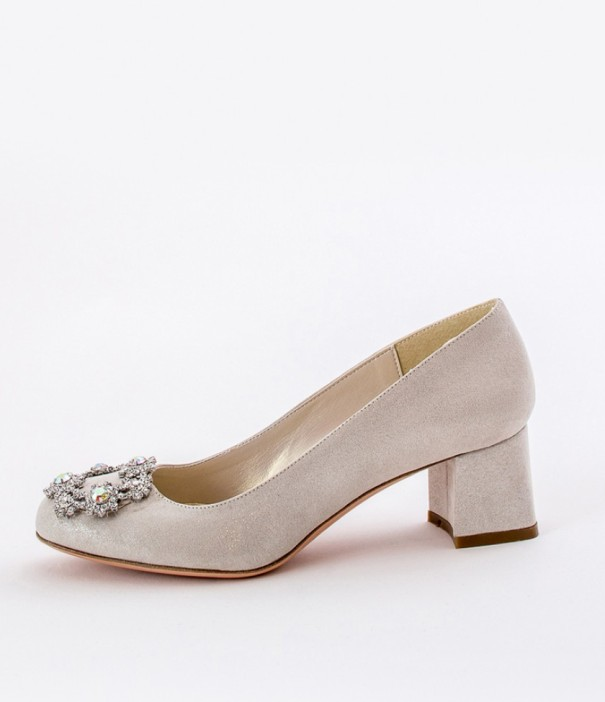 Low Heels Wedding Shoes Alessandra Rinaudo 8 bmodish