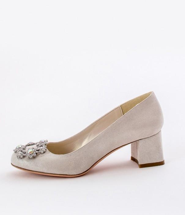 Low Heels Wedding Shoes Alessandra Rinaudo 8 bmodish