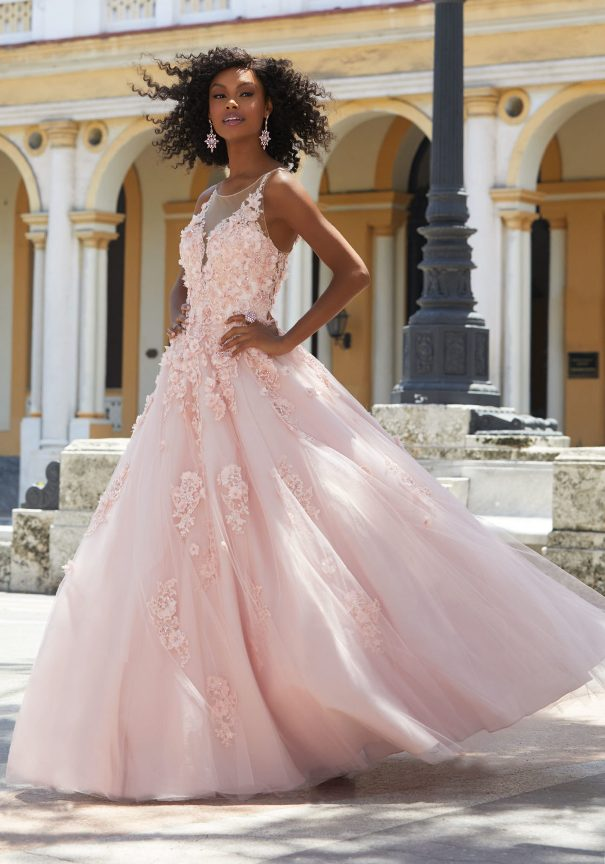 Mori Lee Tulle Ballgown Prom Dress Bmodish