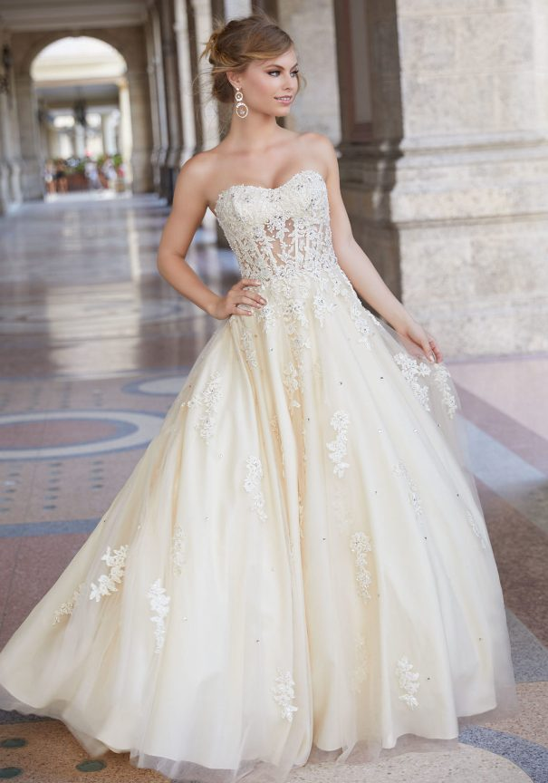 Tulle Ballgown Mori Lee Prom Dress Bmodish