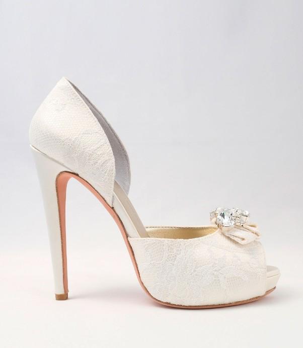 White Satin Wedding Shoes Alessandra Rinaudo 23 bmodish
