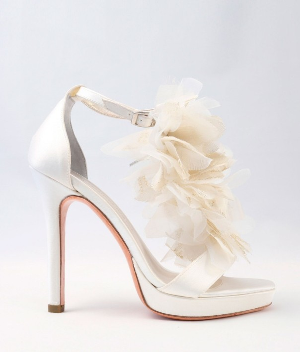 White Satin Wedding Shoes Alessandra Rinaudo 21 bmodish