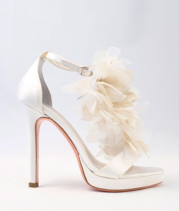 White Satin Wedding Shoes Alessandra Rinaudo 21 bmodish
